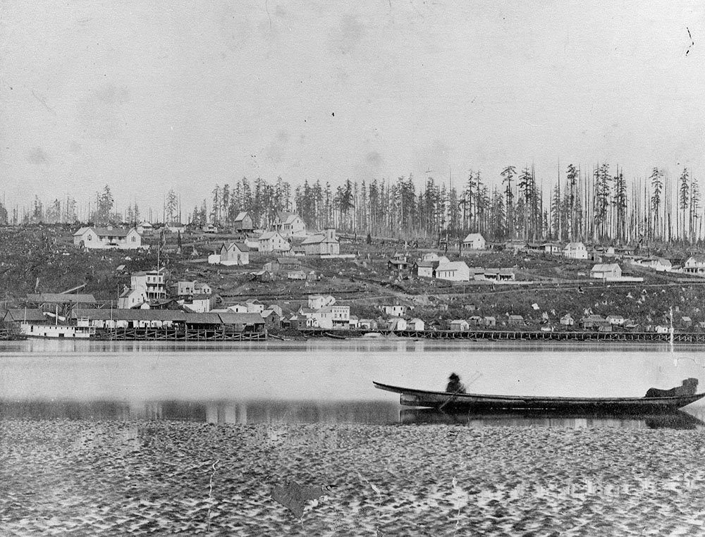 View of New Westminster 1864